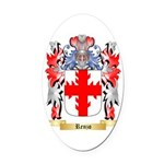 Renzo Oval Car Magnet