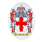 Renzo Oval Ornament