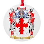 Renz Round Ornament
