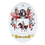 Renwick Oval Ornament