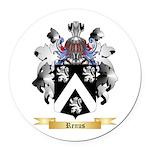 Renus Round Car Magnet