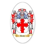 Rentz Sticker (Oval 50 pk)