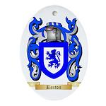 Renton Oval Ornament