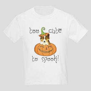 Halloween Sheltie Kids Light T-Shirt