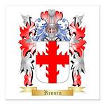 Rensen Square Car Magnet 3