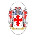 Rensen Sticker (Oval 50 pk)