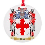 Rens Round Ornament