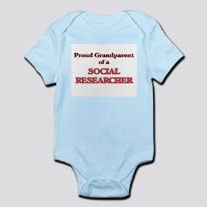 Proud Grandparent of a Social Researcher Body Suit