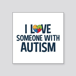 Love Someone with Autism Sticker