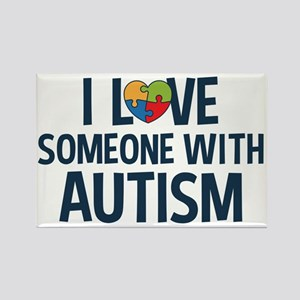 Love Someone with Autism Magnets