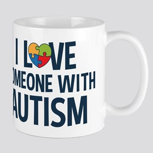 Love Someone with Autism Mugs