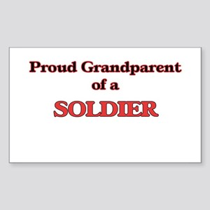 Proud Grandparent of a Soldier Sticker