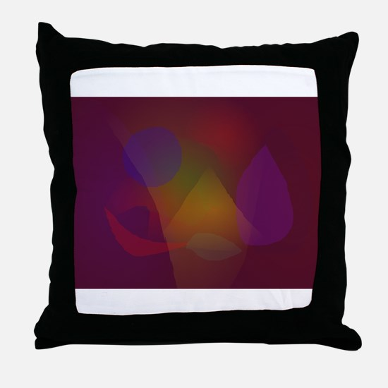 Leaves of the Seasons Throw Pillow