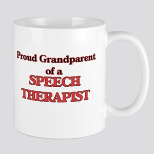 Proud Grandparent of a Speech Therapist Mugs