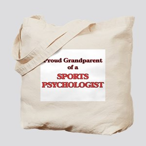 Proud Grandparent of a Sports Psychologis Tote Bag