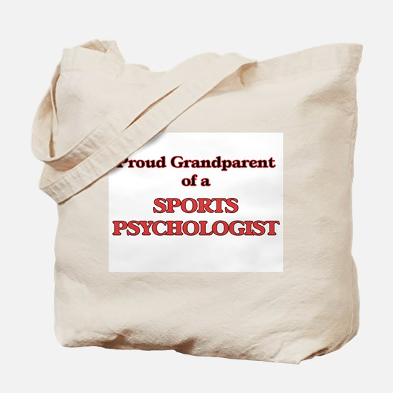 Proud Grandparent of a Sports Psychologis Tote Bag