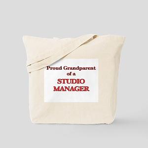 Proud Grandparent of a Studio Manager Tote Bag