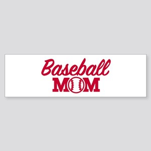 Baseball mom Sticker (Bumper)