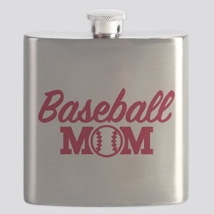 Baseball mom Flask