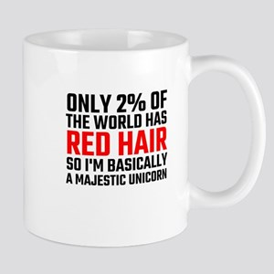 Only 2 Percent Of The World Has Red Hair Mugs