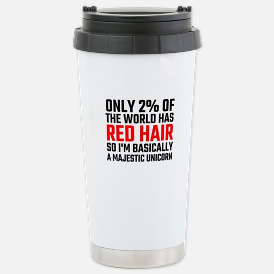 Only 2 Percent Of The W Stainless Steel Travel Mug