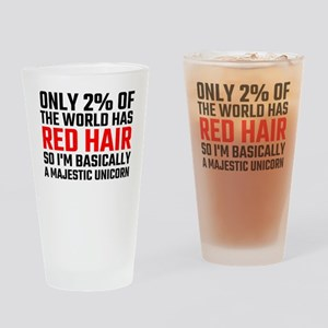 Only 2 Percent Of The World Has Red Drinking Glass