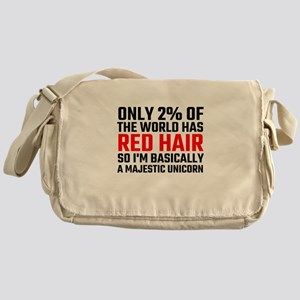 Only 2 Percent Of The World Has Red Messenger Bag