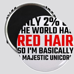 Only 2 Percent Of The World Has Red Hair Magnets