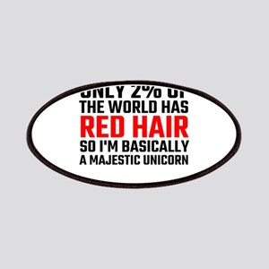 Only 2 Percent Of The World Has Red Hair Patch