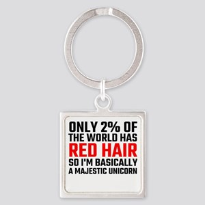 Only 2 Percent Of The World Has Red Hair Keychains