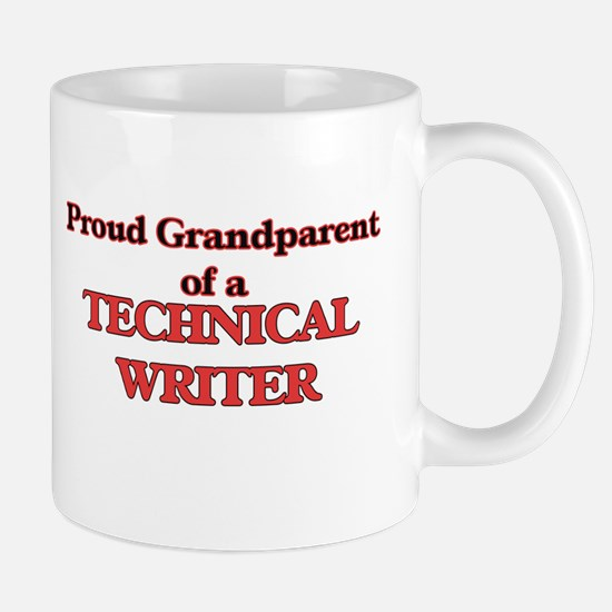 Proud Grandparent of a Technical Writer Mugs