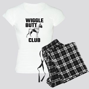 Boxer Wiggle Butt Club Women's Light Pajamas