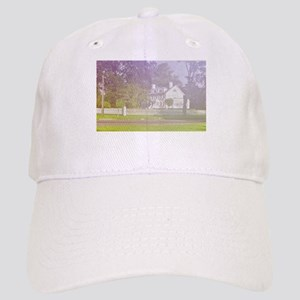 soft view of old farmhouse Cap