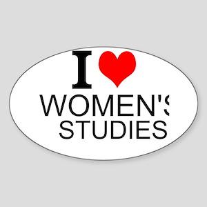 I Love Women's Studies Sticker