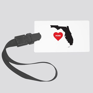 Florida Is Home Large Luggage Tag
