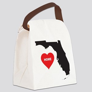 Florida is Home Canvas Lunch Bag