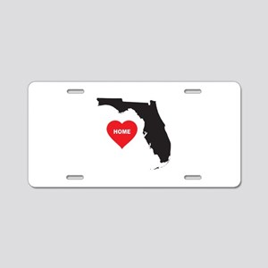 Florida Is Home Aluminum License Plate