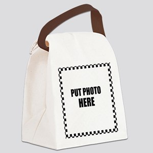 Put Photo Here Canvas Lunch Bag