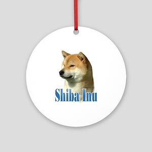 Shiba Name Ornament (Round)