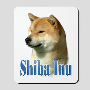 Shiba Name Mousepad
