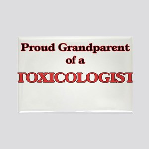 Proud Grandparent of a Toxicologist Magnets