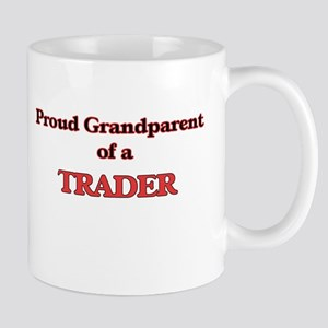 Proud Grandparent of a Trader Mugs
