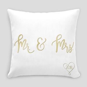 2016 Mr. & Mrs. Everyday Pillow