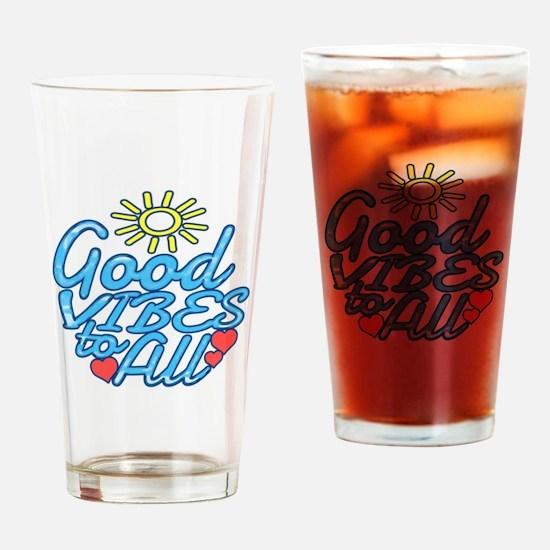Cute Feelings Drinking Glass