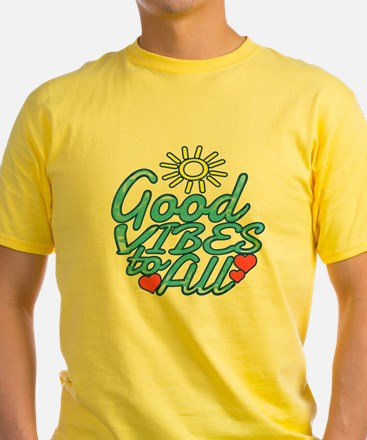 Funny Good vibes T