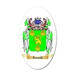 Rennold 20x12 Oval Wall Decal