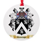 Rennings Round Ornament
