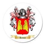 Rennie Round Car Magnet