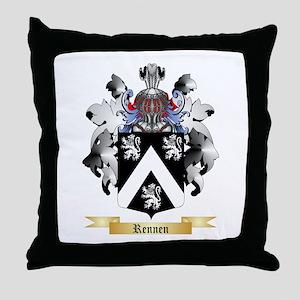 Rennen Throw Pillow