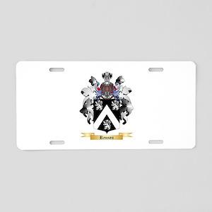 Rennen Aluminum License Plate